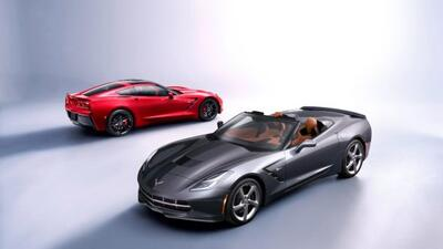 El Corvette fue pensado como un convertible desde el inicio.