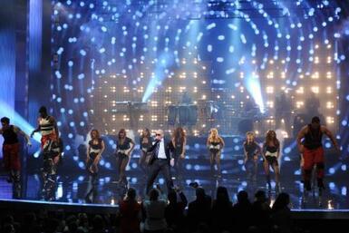 Pitbull se unió a la fiesta de la Nueva Programación de Univision.