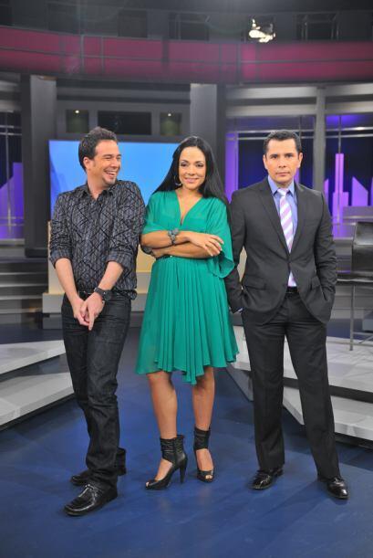 Los cuatachos son Ana Sobero, Alex Otaola y Saúl Gutiérrez.