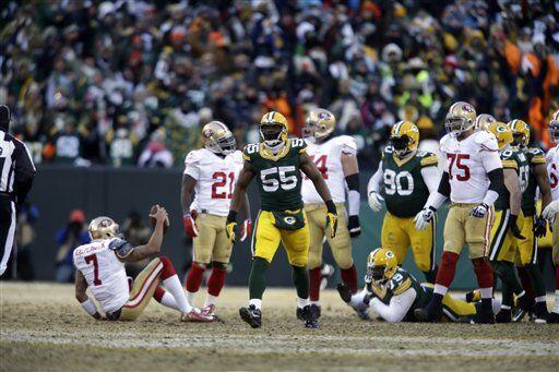 El elusivo mariscal no pudo escapar en todas las ocasiones y los Packers...