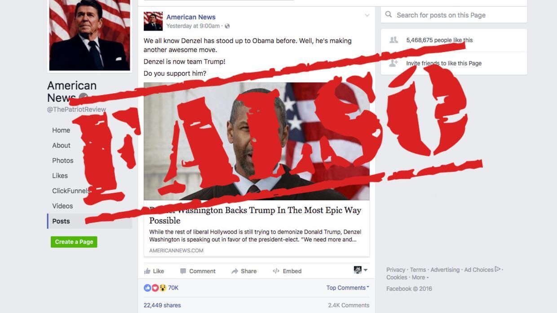 Resultado de imagem para noticia falsa