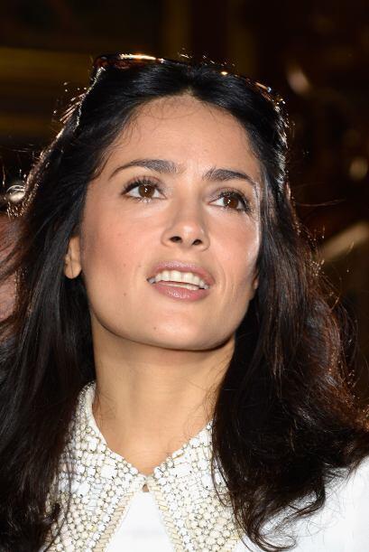 - La actriz mexicana Salma Hayek, aunque no se hizo de grandes cantidade...