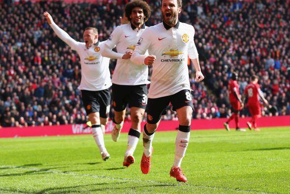 El español sacaba la casta por el United y enmudecía a todo Anfield al m...
