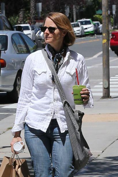 En aquél momento, la famosa de 51 años salió de compras en Los Ángeles....