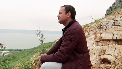 Alan Tacher subió al monte Arbel, lugar donde solía orar Jesucristo