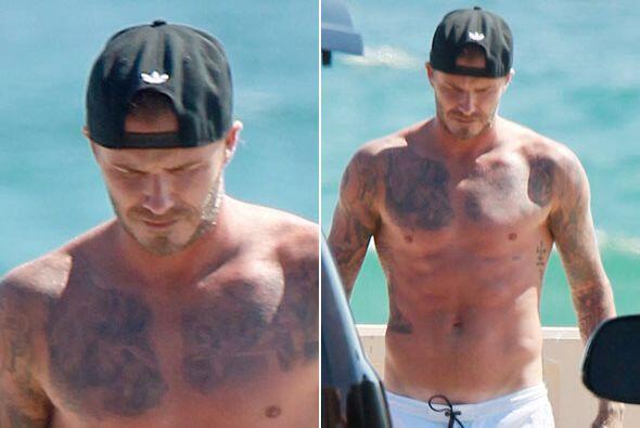 David Beckham vuelve a robar suspiros.