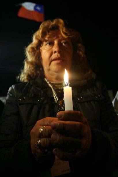 5 de octubre: Los familiares hacen un acto de conmemoración de lo...