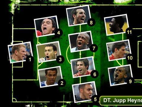 No podemos empezar la semana sin traerles el 11 ideal del fútbol...