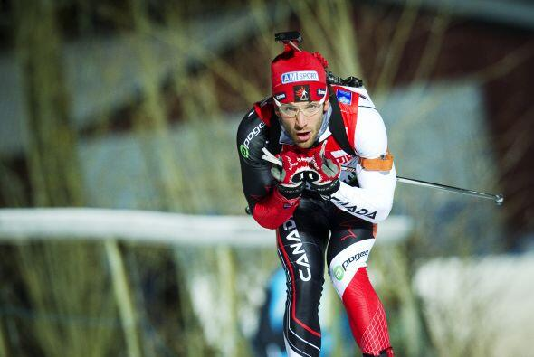 Y el competidor canadiense Scott Perras.