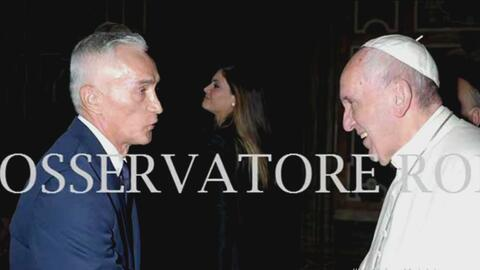 Jorge Ramos revela detalles de su encuentro con el Papa Francisco