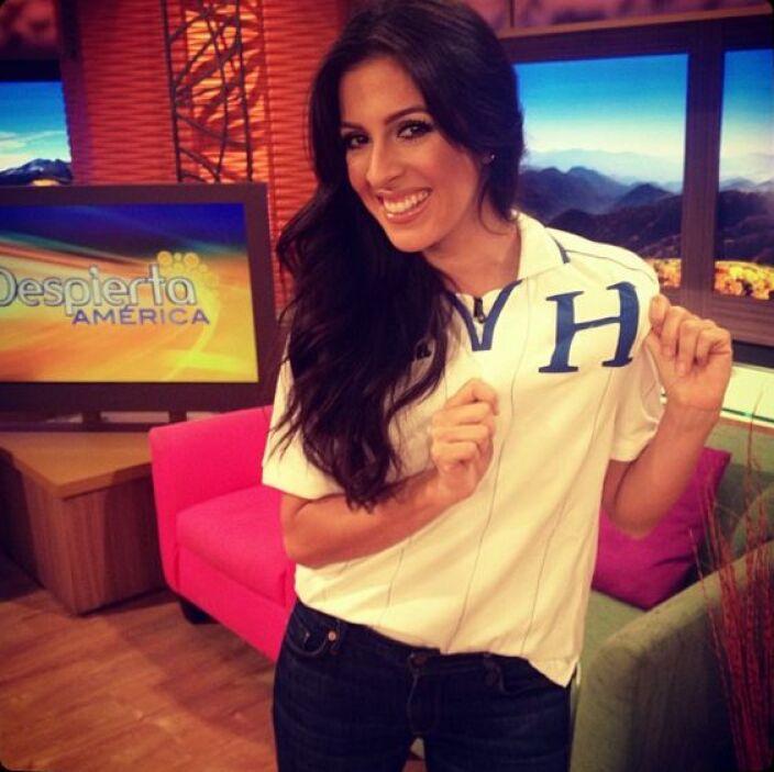 """""""¡Desde ya apoyando a Honduras! Todos con la #H!"""", comentó Maity Interia..."""
