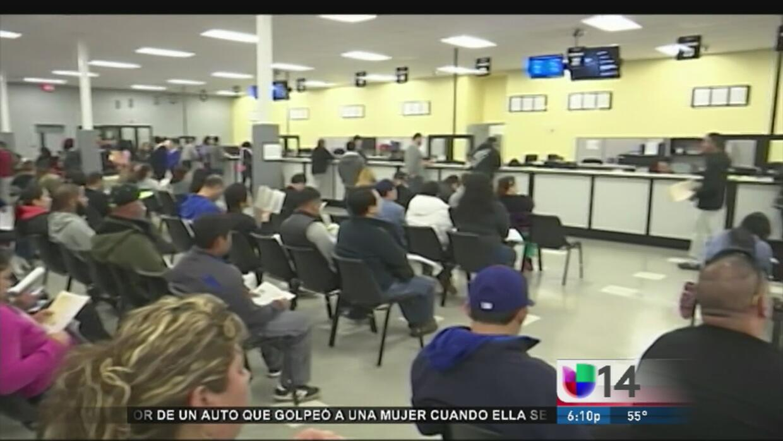 Mexicanos y salvadoreños denuncian problemas en trámite de licencia AB60