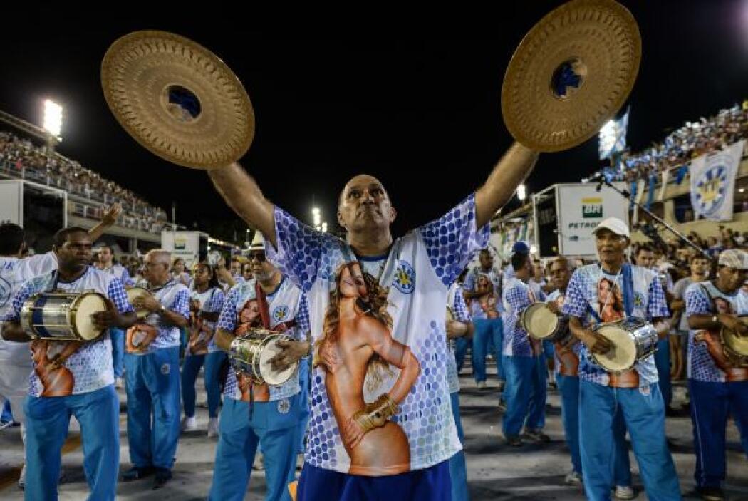 El sambódromo de Río de Janeiro será ocupado el domingo por las escuelas...