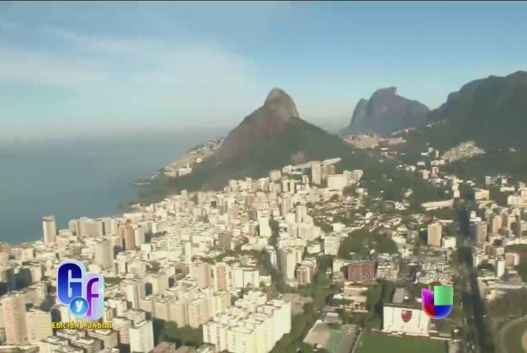 Ahora tuvo la oportunidad de sobrevolar Río de Janeiro.
