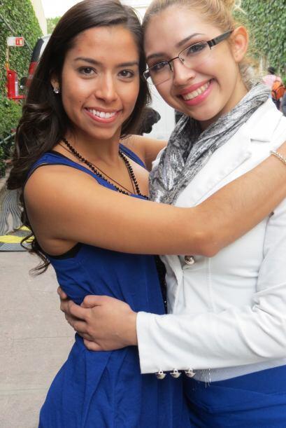 Virginia Stille y Paloma Carrasco se han hecho muy buenas amigas.