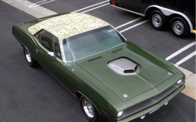 Si usted ve este carro por ahí, llame al 911 y repórtelo pues fue robado.