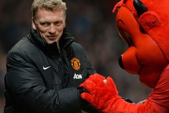 Fred the Red ofreció su apoyo a David Moyes, pero podría ser uno de los...