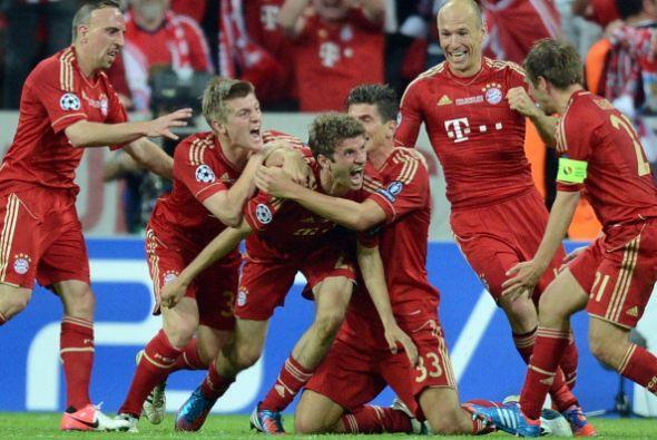 Con apenas 5 minutos por jugar el Bayern celebraba un gol que parec&iacu...
