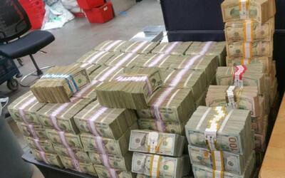 Los más de 3 millones de dólares que decomisaron en San Di...