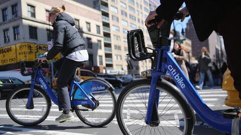 El sistema de bicicletas públicas de Nueva York es el más...