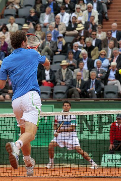 Sin embargo, Murray logró salir avante ante las dificultades, com...