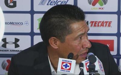 Ignacio Ambriz: 'Para que la afición esté contenta, la presión siempre l...