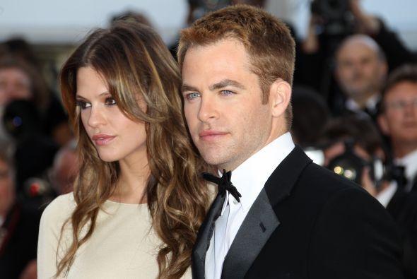 """El guapo """"Capitán Kirk"""", Chris Pine, estrella de """"Star Trek"""", había dura..."""