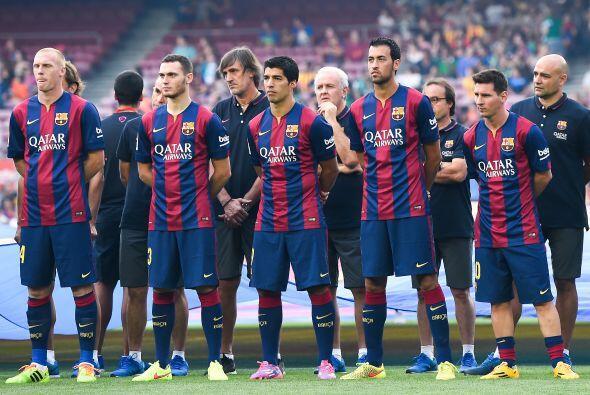 La nueva versión del Barcelona, para la temporada 2014-2015 en Es...