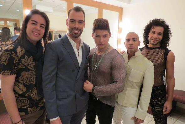 Raúl, Arias, Danny, José y Frank.