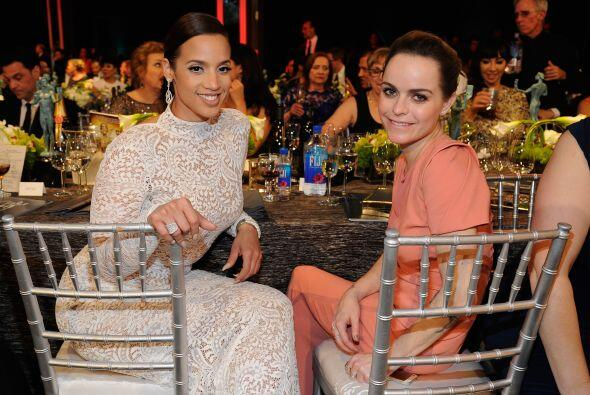 Dascha Polanco y Taryn Manning de 'Orange is the New Black'.