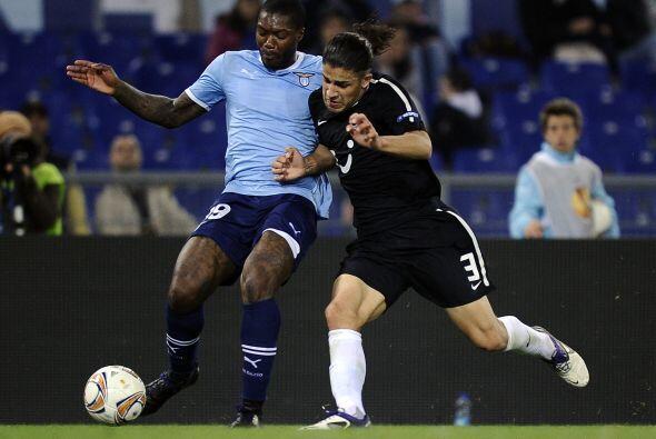 La Lazio necesitaba ganar su partido en contra del FC Zürich.