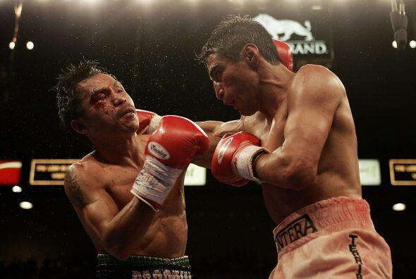 Manny Pacquiao y Erik 'Terrible' Morales se enfrentaron el 19 de marzo d...