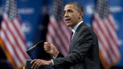 El Presidente de Estados Unidos, Barack Obama, se dirige a la asamblea d...