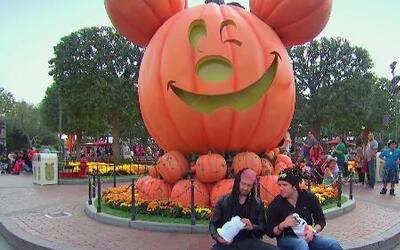 El Dasa y Luis Sandoval fueron a buscar dulces a Disney