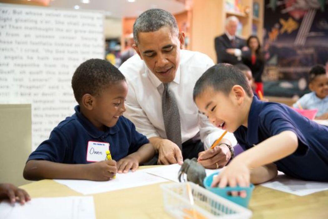 Otro político que fue profesor fue el multifacético presidente Barack Ob...