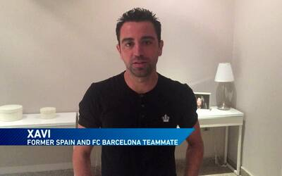 Xavi, Piqué, Raúl, Juan Mata, Pepe Reina y otras estrellas felicitan a D...