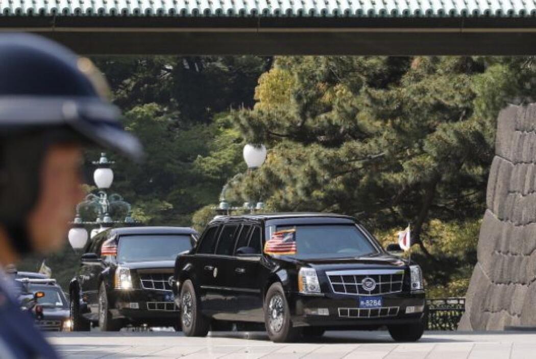 Su visita a Japón ha transcurrido pacíficamente.