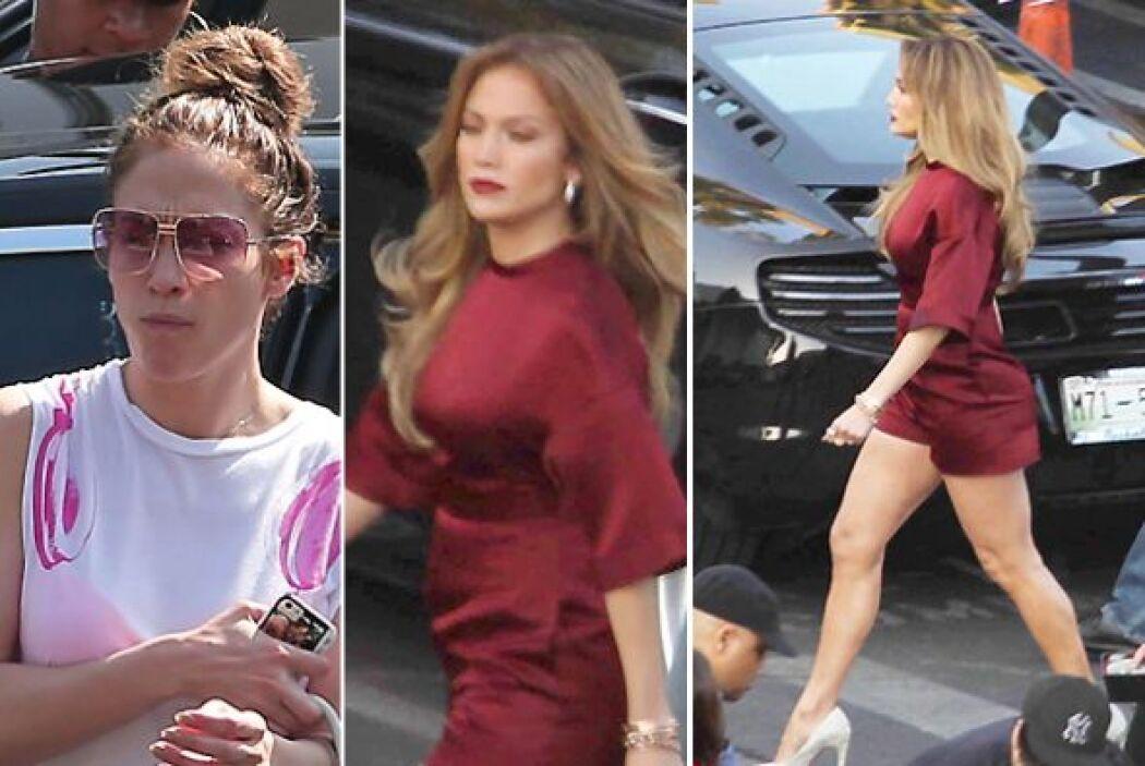 Jennifer Lopez volvió a sorprendernos con una transformación de un look...