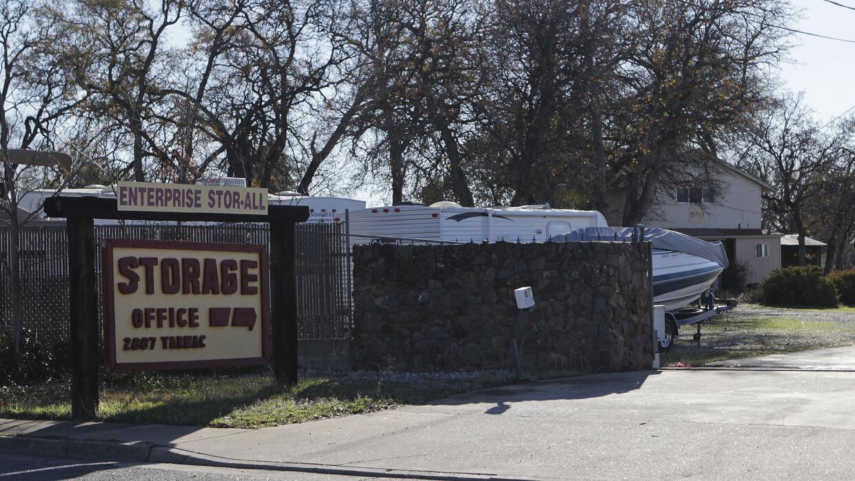 Sitio donde hallaron los cadáveres de dos niños