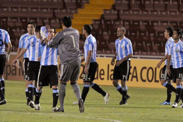Los juveniles argentinos volvieron a sonreír en el Sub 20 luego de vence...