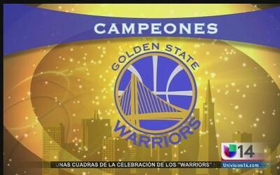 Oakland celebra a lo grande a los Warriors