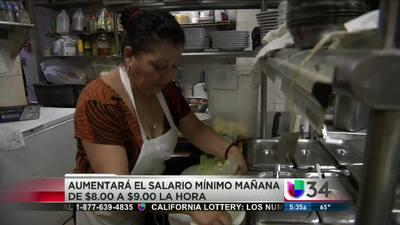 Sube salario mínimo en California