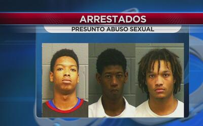 Arrestan a tres jóvenes por presunto abuso sexual