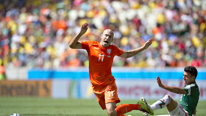 Arjen Robben y el #Noerapenal