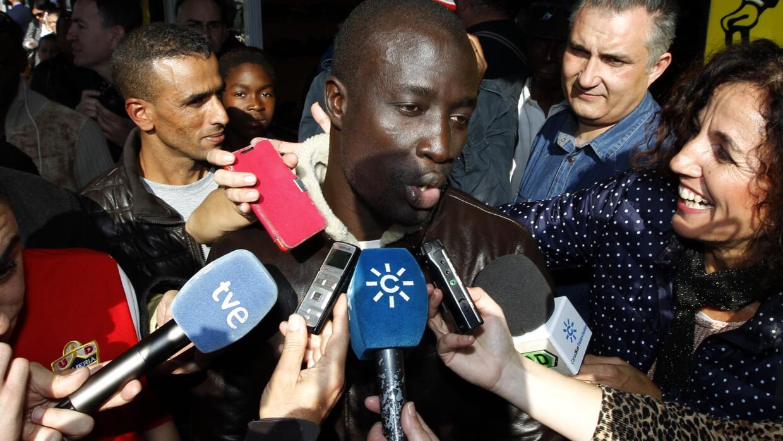 Inmigrante senegalés que ganó la lotería en España