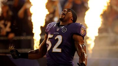El jugador de los Ravens en su última temporada, tratará de llegar al Su...