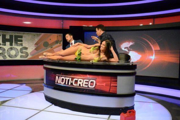 El Noti-creo presentó una noticia fuera de serie.