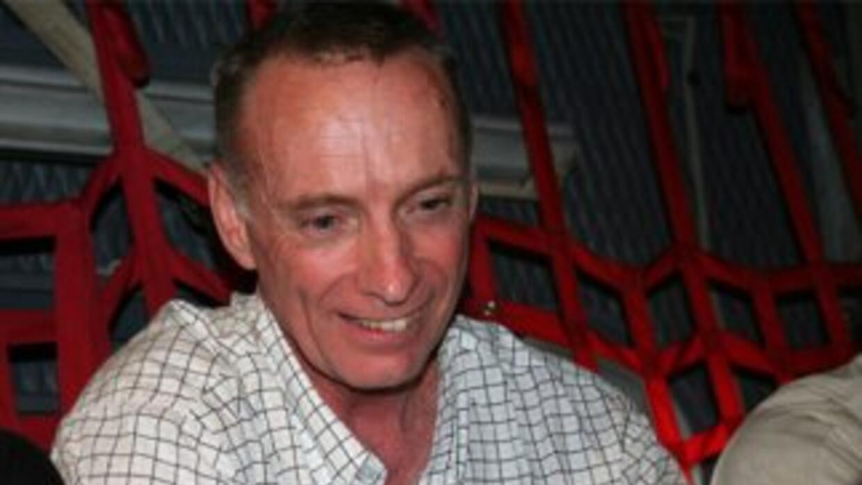 Thomas Howes, uno de los estadounidenses retenido por las FARC y cuyo cu...