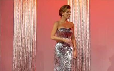 Look 360º de Alicia Machado en la alfombra roja de Premio Lo Nuestro 2012