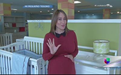 Milly Méndez se fue en busca de la cuna ideal para su bebé